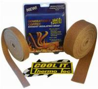 Protection - Heat Protection - Thermo Tec - THERMO-TEC Exhaust Insulating Wrap: Copper 2 inch