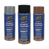 THERMO-TEC High Heat Wrap Coating: Silver