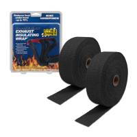 THERMO-TEC Exhaust Insulating Wrap: Black 1 inch